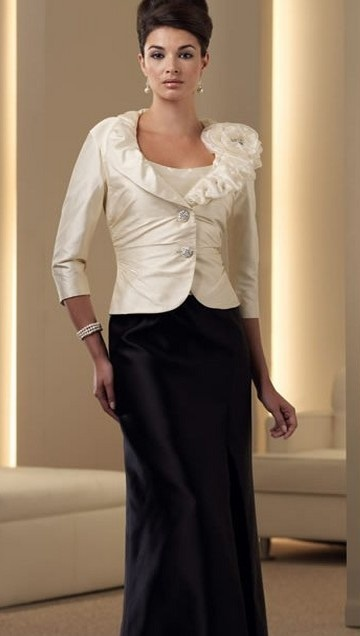 Blouse And Blazer With Long Skirt MB1211