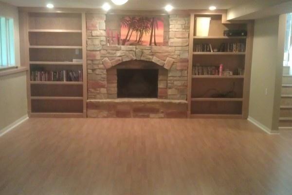 laminate floor installed on basement floors pinterest