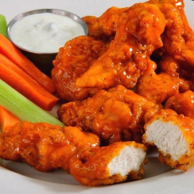 Boneless Buffalo Wings Recipe — Dishmaps