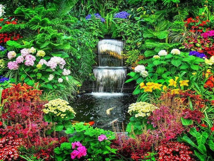 Flower Gardens Ideas Yard Garden Pinterest