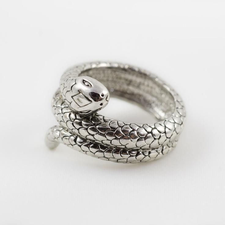 Bague serpent pour femme et homme  Tattoos/Piercings/Jewellery~  Pi ...
