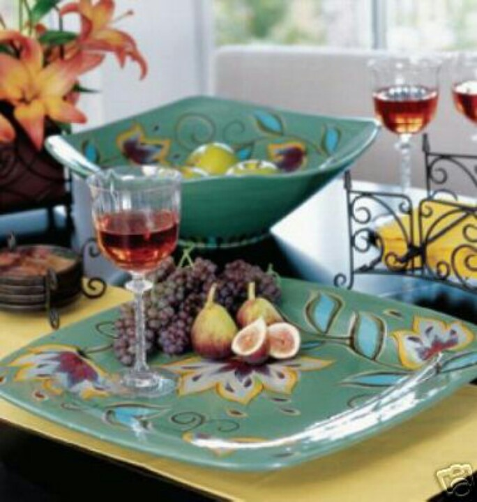 southern living at home gail pittman bowl and plate willow house