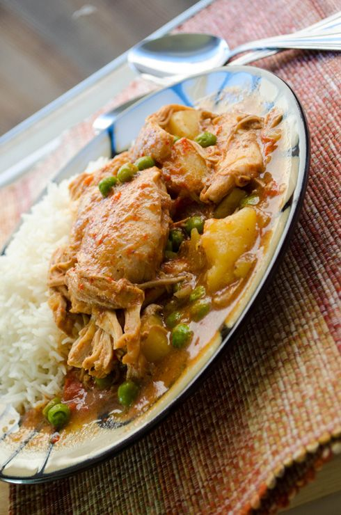 Slow Cooker Garam Masala Chicken Curry | Treasure Trove of Ideas (Rec ...