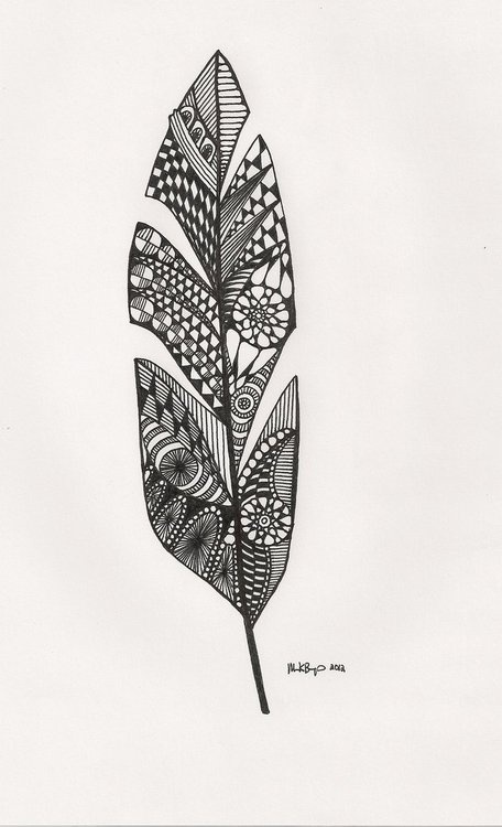 feather sketch | Feathers | Pinterest