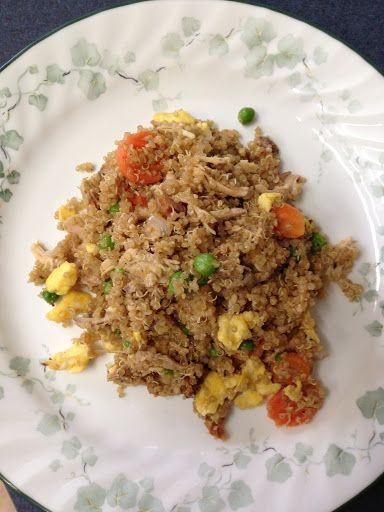 Quinoa Fried Rice - always love any recipe I can find for Chinese food ...