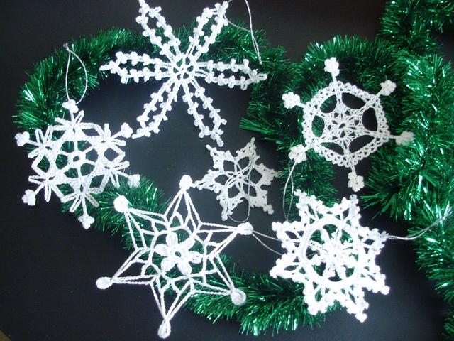 Crochet Snowflake : crochet snowflakes Crochet - Snowflakes Pinterest