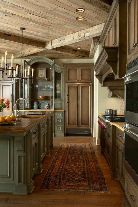 Beautiful Rustic Kitchen DIY Pinterest