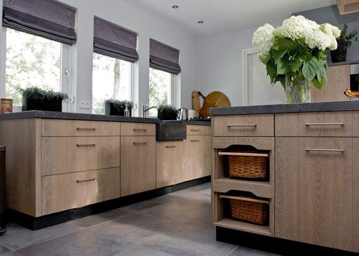 Keuken Eikenhout : Schitterende luxueuse keuken voorzien van alles Remodel Ideas