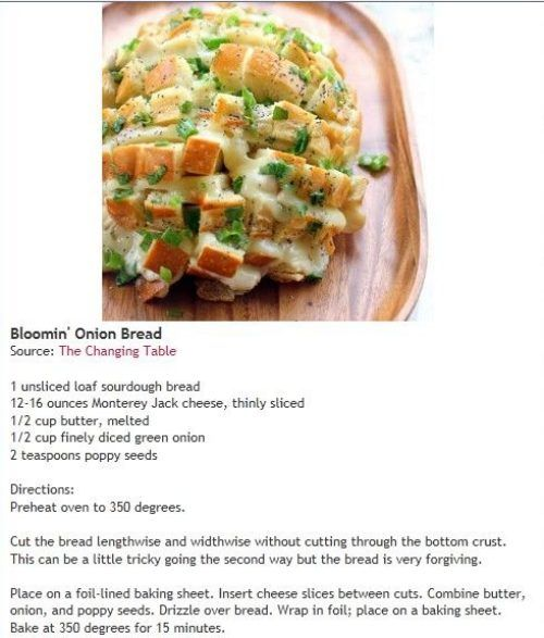 bloomin onion bread - variation pepperoni, mozz, parm, dip in warm red ...