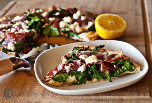 arugula-prosciutto-pizza | Hazlo tú mismo | Pinterest