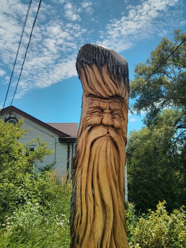 Tree carving wood pinterest