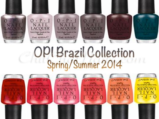 Spring 2014 OPI nail colors | Beauty, Health & Exercise | Pinterest