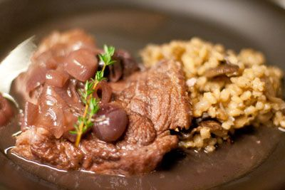 Barley with Mushrooms and onions | Eat: Potatoes, Grains & Beans | Pi ...