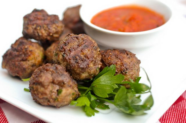 Hot Or Mild Italian Turkey Sausage Meatballs With Fennel ...