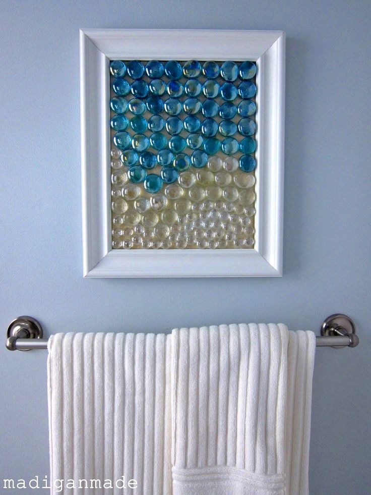 12 simple wall art projects to make Simple wall art