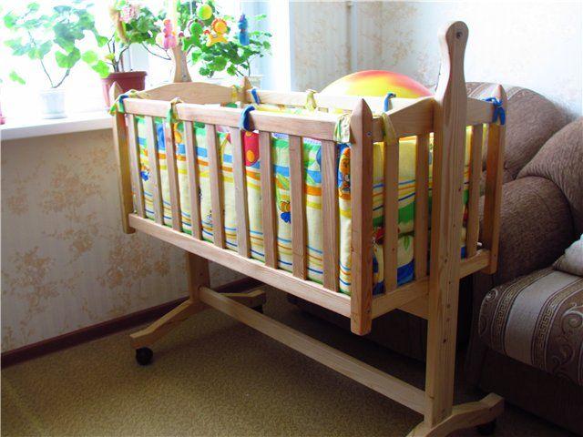 Кроватка для новорожденного сделать своими руками