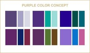 colors that go well with purple wedding ideas pinterest. Black Bedroom Furniture Sets. Home Design Ideas