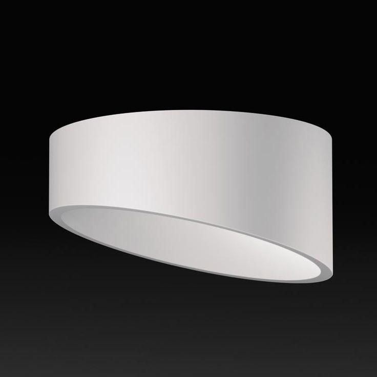 Angled ceiling light