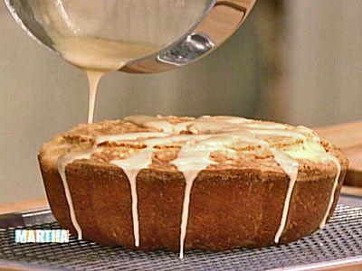 Pound Cake with Maple Glaze | Recipe