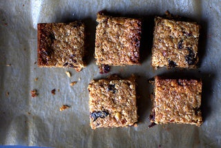 Low Fat Granola Bars With Bananas Cranberries Pecans From Cookin ...