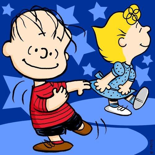 Linus and Sally Dancing | Linus & Company | Pinterest