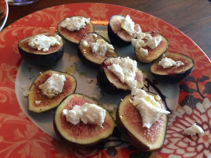 Goat Cheese Stuffed Figs Mission figs stuffed with chèvre cheese ...
