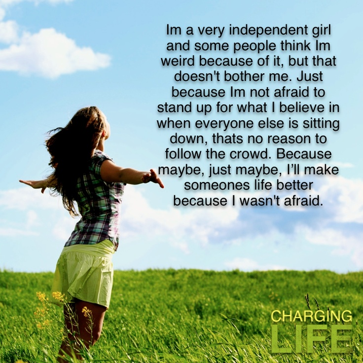 Strong Independent Woman Quote