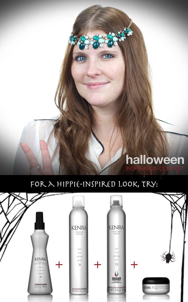 Halloween Hair Tutorial: Hippie Chic