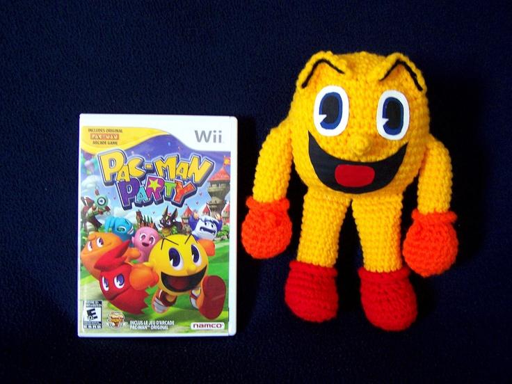 Amigurumi Pacman : New Pac Man amigurumi. Crocheted Items Pinterest