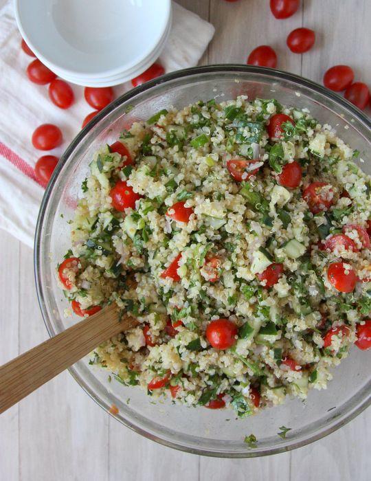 Quinoa Tabbouleh Salad | Recipe