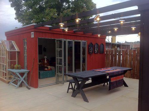 Kenjo cabin like prefab guest house or studio for Prefab studio
