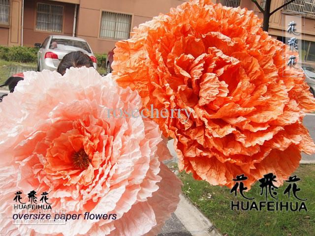 Oversize Flowers Wedding Decorations Paper Flower Large Paper Flowers