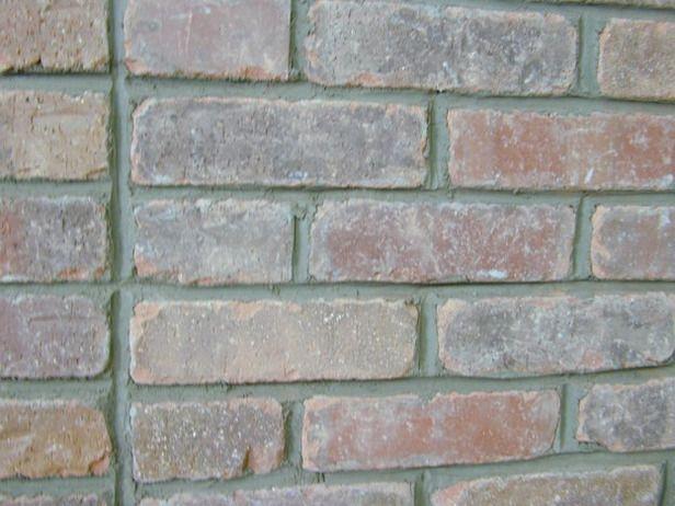 How to grout interior brick veneer for Interior brick veneer