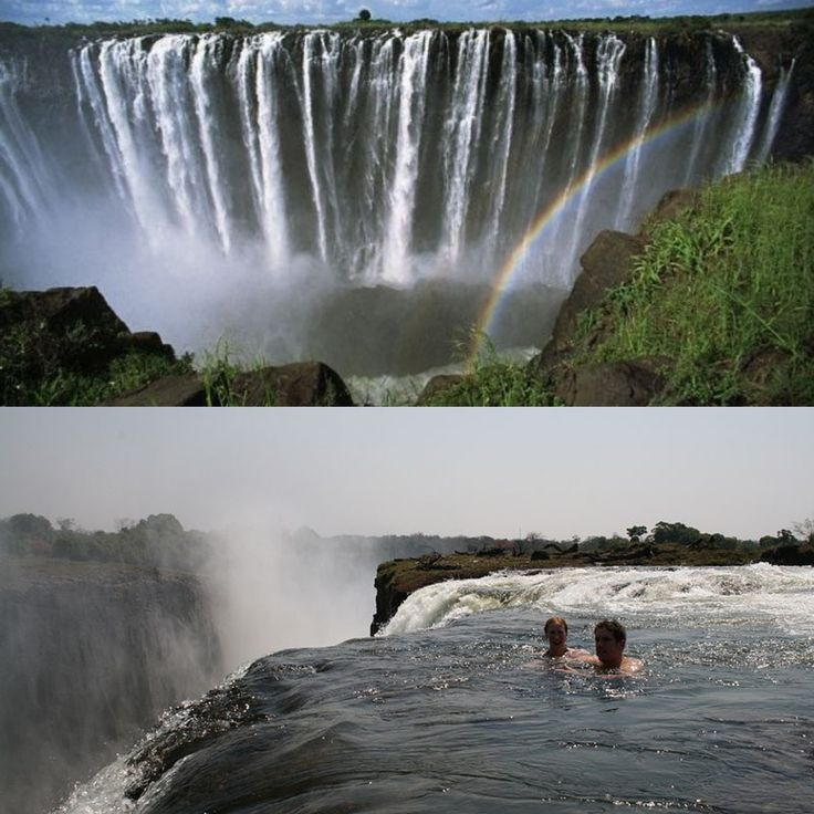 Victoria Falls Devil 39 S Pool Zambia Happy Travel Feet Pinterest