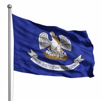 louisianas state flag