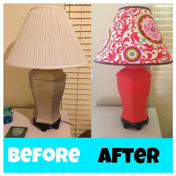 How-To: Refinish Older Lamps