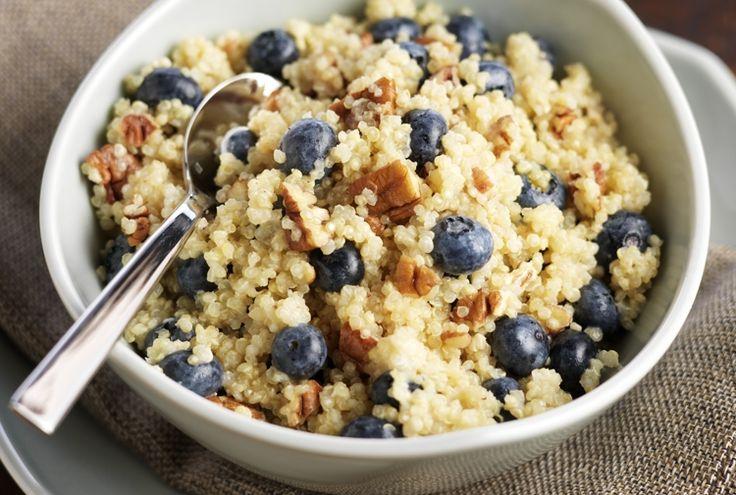 Blueberry Quinoa Breakfast:Blueberry Quinoa Breakfast Cereal ...