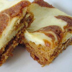 Pumpkin Cake w/ Cream Cheese Swirl ~   Pumpkins ~ Cakes, Tortes, Je ...