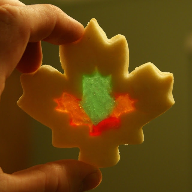 Stained Glass Cookie | Thanksgiving & Fall | Pinterest