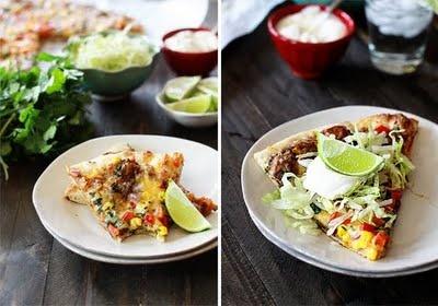 Black Bean Mexican Pizza | Eat/Drink | Pinterest