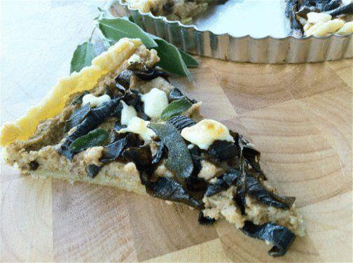 Roasted Cauliflower, Caramelized Onion & Crispy Sage Tart , a recipe ...