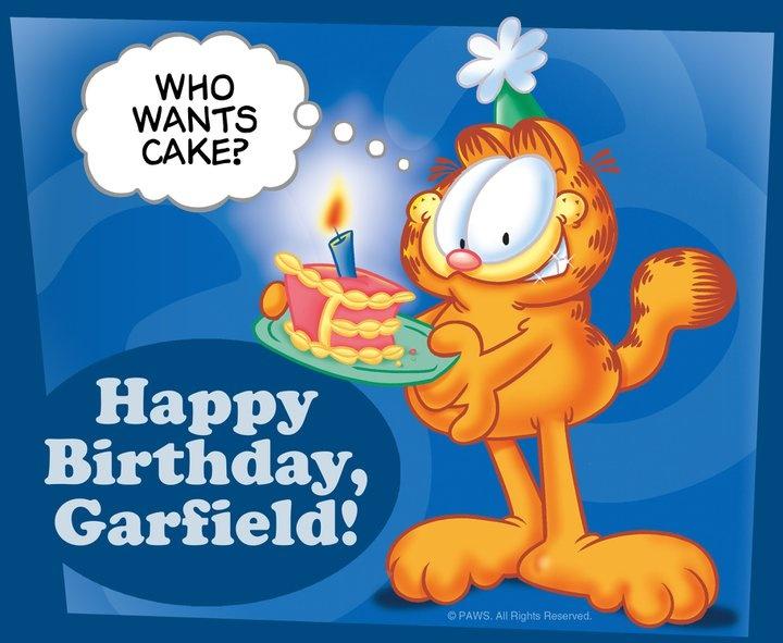Who Wants Cake??? | Garfield's Wisdom~ | Pinterest
