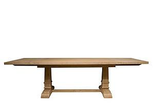 Hudson Extension Dining Table, Stonewash