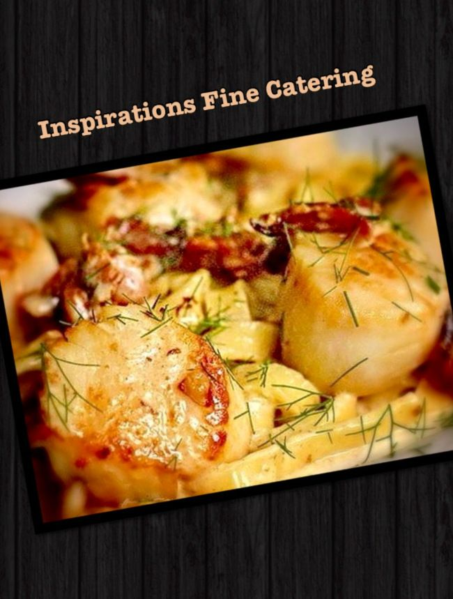 Pan-Seared Scallops with Herb Butter Sauce!!! #recipes