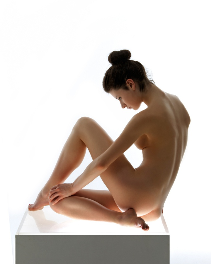 The female nude i a pose book for artist