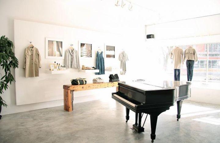 Lark store vancouver store design retail design interiors