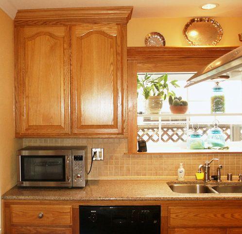 Oak Cabinets New Silestone Quartz House Ideas Pinterest