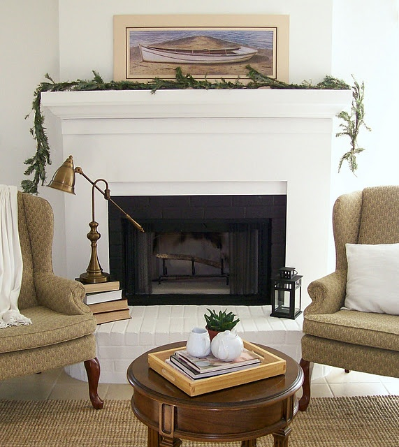 Diy Fireplace Surround Cover Up Outdated Brick Fireplace