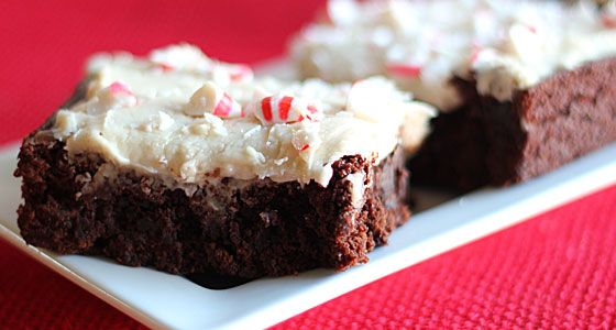 Brownies with Kahlúa Icing (buttercream icing). Just add kahlua ...