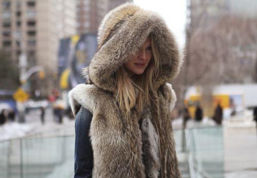 NY winter fashion